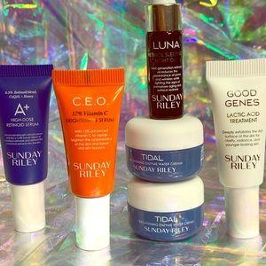 Sunday Riley A+ CEO Tidal Luna Good Genes LOT NWT